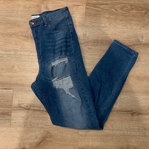 AP Blue by Aphrodite high waisted jeans